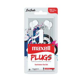 Fone De Ouvido Com Microfone Earbuds Stereo Maxell