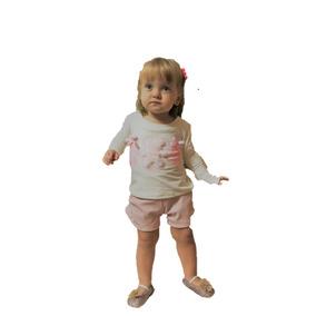 Conjunto Menina Infanti Com Shorts - Grupo Le Petit Kukiê 122c2561241d