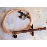 398 Prd- Antigo Maçarico Lança Chamas Maçarico A Gás