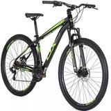 Bicicleta Mtb Ox Bike Aro 29 Glide Tamanho 17 Verde Shimano