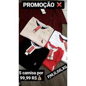 88f35c63e4 Camisetas para Masculino em Mossoró no Mercado Livre Brasil