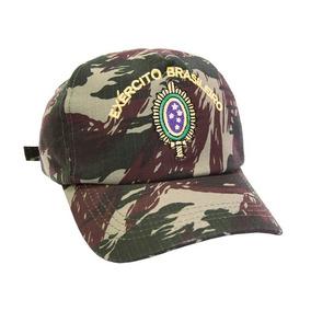 Boné Camuflado Bordado Exército Brasileiro eaeb06e2798