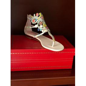 Sandalias Con Cristales Swarovski en Mercado Libre México 8ac5632fb347