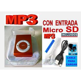 Reproductor Mp3 Portatil Con Bateria Recargable