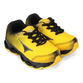 501c55d757 Tenis Menino Infantil Tamanho 21 - Tênis Meninos Casuais 21 Amarelo ...