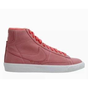 Nike Blazer Mid Hot Punch Tenis Niña Mx#24 Us#6y