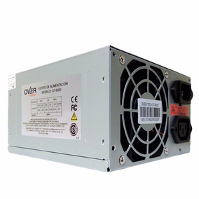 Fuente 500w Pc Conector 20 + 4 Pines- Overtech