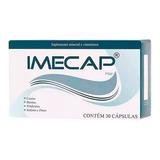 Suplemento Vitamínico Imecap Hair 30 Cápsulas