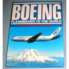 Avião - Livro Boeing Planekamer To The World ( Inglês )