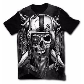 Camiseta Camisetas Skull Riders Tattoo Chicano Lowrider df9c5d1d84a