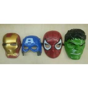 Mascaras Avengers Capitán América Spiderman Hulk Iroman