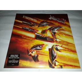 Lp Judas Priest Firepower Vinil Duplo Lacrado