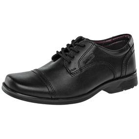 Zapato Escolar Yuyin 25032 Niño Negro 18-25 Envió Inmediato