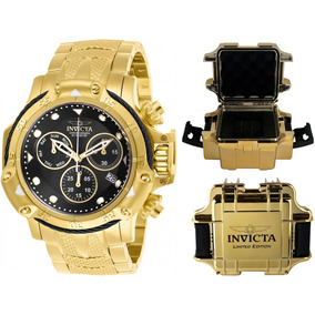 580d92706e4 Relógio Invicta 5517 Subaqua Banhado A Ouro 18k Masculino - Relógios ...