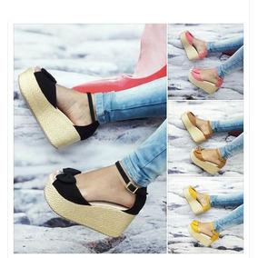 Sandalia Plataforma Juvenil - Sandalias para Mujer en Mercado Libre ... c6be4c5907c2