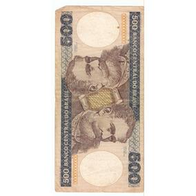 500 Quinhentos Cruzeiros Nota Cédula Antiga Nacional N0231