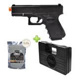 Pistola Airsoft Glock G15 Full Metal Spring + Case + 2000 Bb