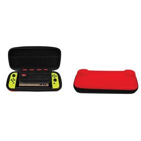 Case De Viagem Nintendo Switch Ematic Com 8 Slots Jogos + Nf