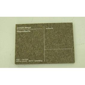 Joseph Beuys Cartão De Feltro Tiragem Desconhecida 10x15x1cm