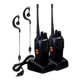 Par Radio 777s Vhf/uhf 16 Canais Comunicador Profissional Nf
