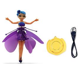Boneca Fada Voadora Flying Fairy Controle Barato Promoção