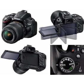Câmera Profissional Youtubers Nikon D5100 Com Lente