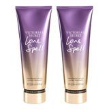 2x1 Body Lotion Love Spell Para Mujer De Victoria's Secret 236ml