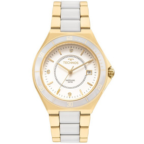 Relógio Technos Dourado Feminino 2115mmn/4b