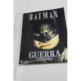 = Quadrinhos Lote 253 Batman Guerra Ao Crime Alex Ross Knigh