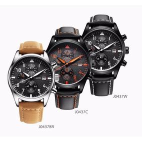 Lindo Relógio Ochstin Com Cronográfo+caixa Original