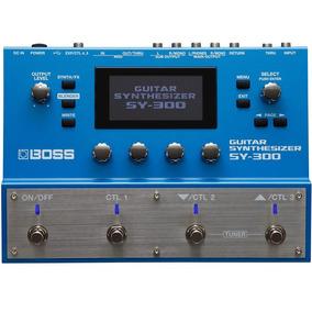 Pedal Boss Sy300 Sintetizador De Guitarra Pedaleira Promoção
