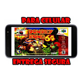 Donkey Kong 64 Para Celular O Tablet