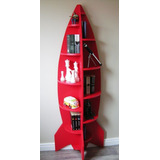 Bonita Lampara Librero Fabricado En Madera Mli 04