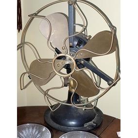 Ventilador Antigo De Mesa Original De Época E Funcionando