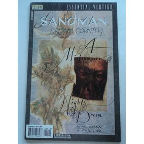 Hq-essential Vertigo:sandman:#19:dream Country:importado:dc