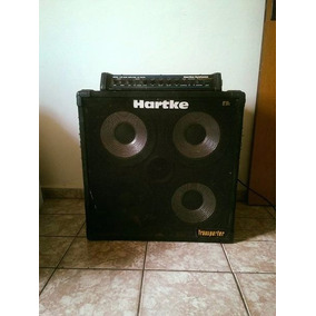 Caixa Amplificada 4x10, E Cabeçote Hartke Model 1400 (bass)