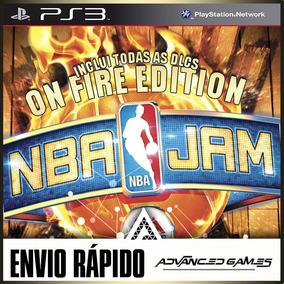 Nba Jam On Fire Edition + Todas As Dlcs - Jogos Ps3 Psn