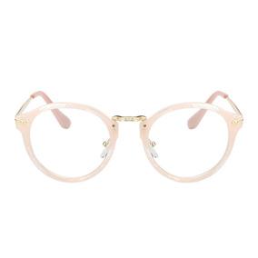 Armação Óculos Grau - Acetato Redondo Masculino Feminino Ja 8d6dd56731