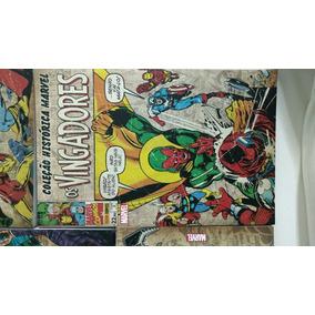Coleção Histórica Marvel Os Vingadores Vol. 3 E 4