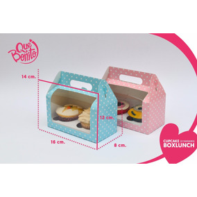 Cajas Cupcake Panques Kekos Muffins Lonchera Boxlunch 2 Cavs
