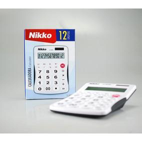 Calculadora De Mesa Oficina Escritorio 12 Dígitos Grande