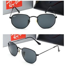 6027fb24d2ce0 Óculos Ray Ban Original, Modelo Clássico, Todo Preto,aviador ...
