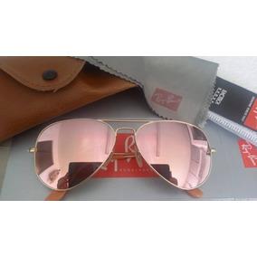 a61c65b75a30c Oculos Rayban Aviador Rose De Sol Ray Ban - Óculos De Sol Outras ...