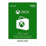 Tarjeta De Recarga Regalo Gift Card 100 Usd Xbox 360 One
