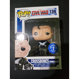 Funko Pop #139 Marvel Civil War Crossbones (unmasked)