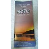 Mapa Turístico Osório Rio Grande Do Sul 70x50