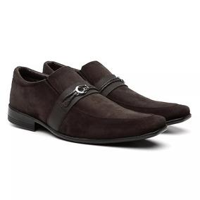 Sapato Social Masculino Casual B´karellus, Marrom E Preto