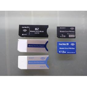Memoria Adaptador Memory Stick Pro Duo Sony 1gb Y 2 Gb