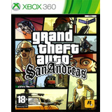 Grand Theft Auto San Andreas Para Rgh (xbox 360)