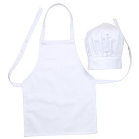 Delantal Y Gorro De Cocinero Para Niños en Mercado Libre México 0d41c14841d